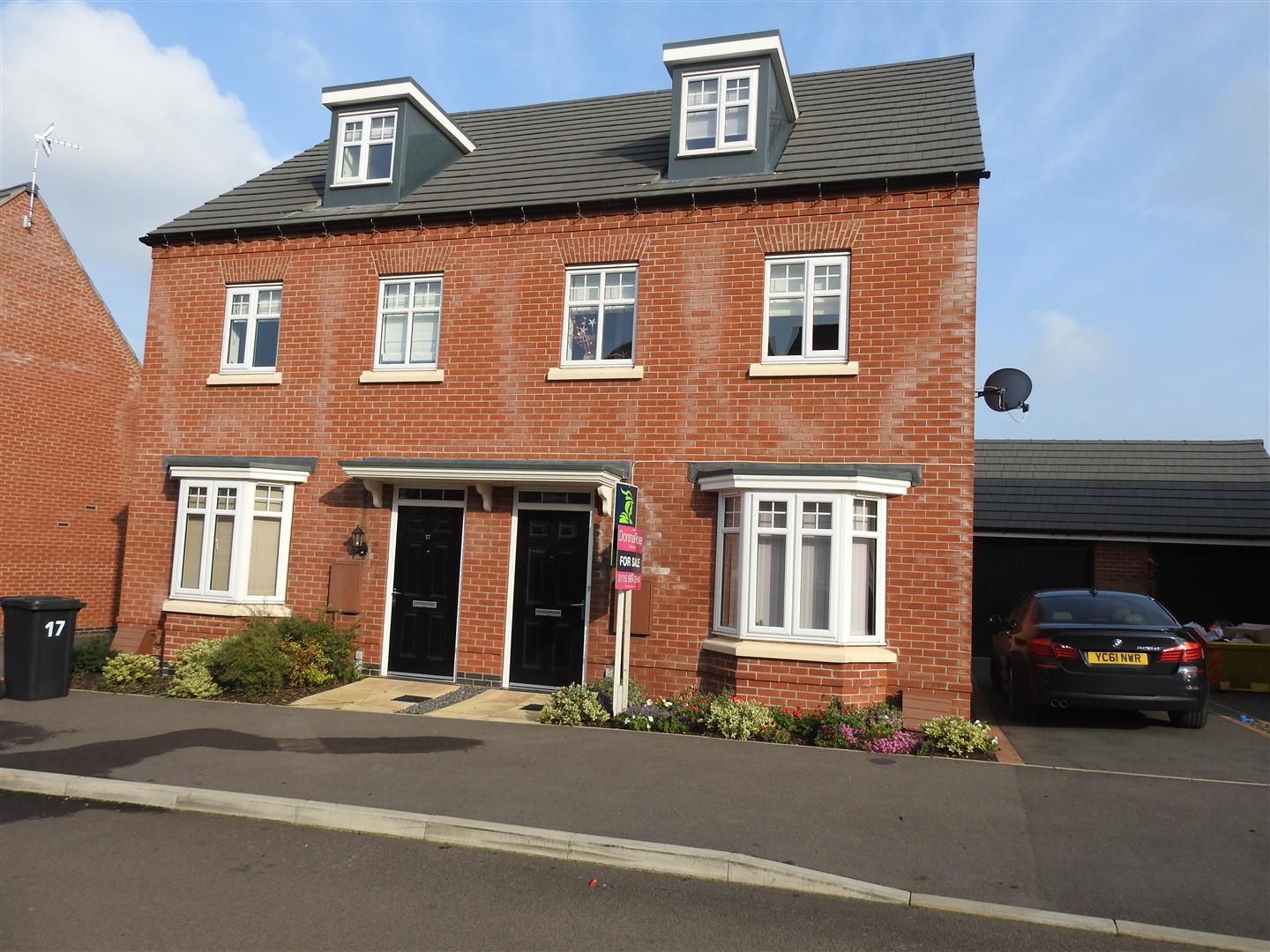 3 Bedrooms Semi Detached House for sale in Latin Grove, Hucknall, Nottingham